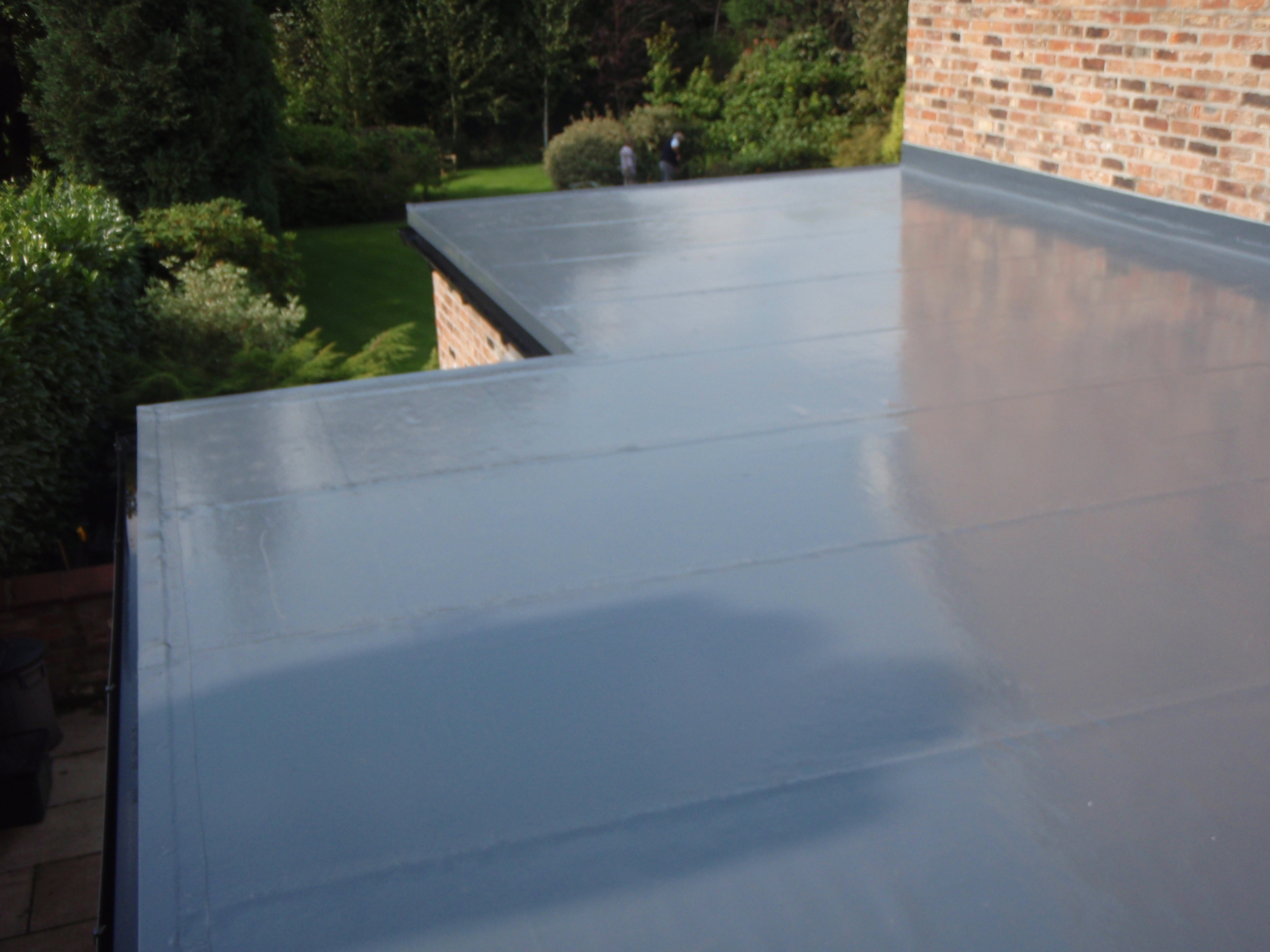 Delightful Polymer Roofing #5: After - Evalon Polymer Flat Roof
