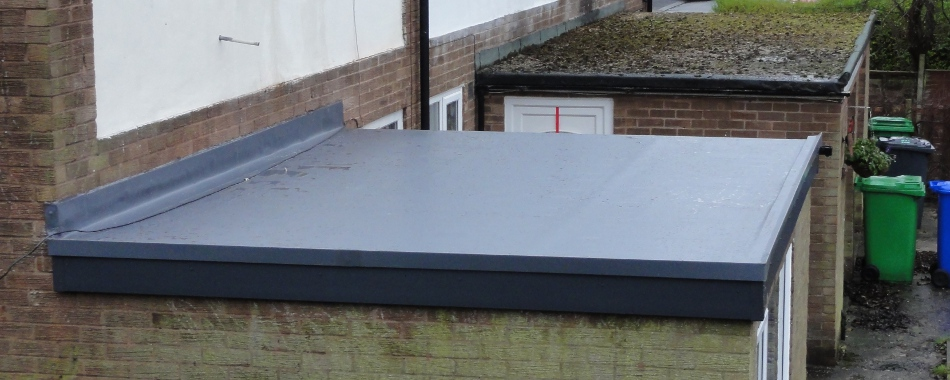 Flat roofing costs