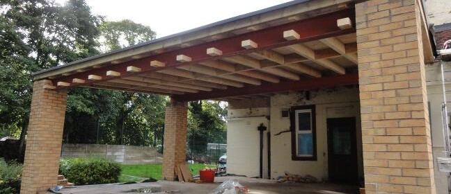 Falcon Roofline - Flat Roof Construction